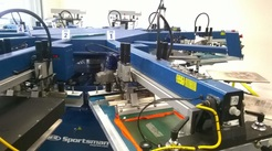 Dallas contract screen printing m&r