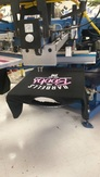 Aurora Discharge screen printing 4234
